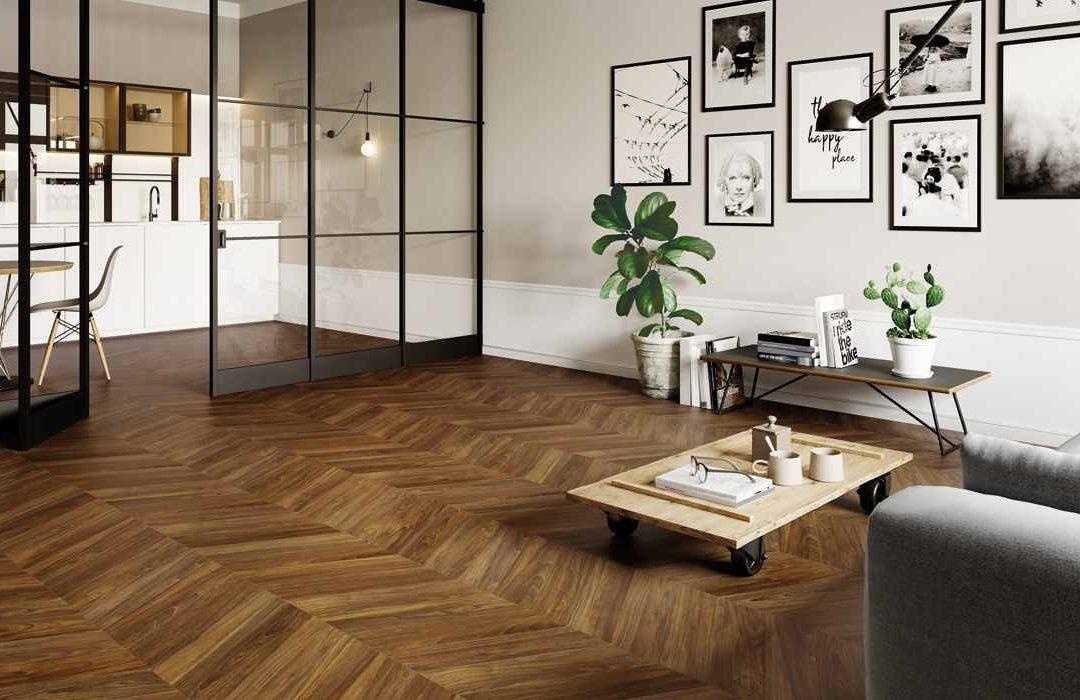 Installation of the flooring