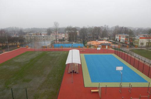 Sporta laukuma pārbūve Bauskā
